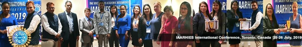 IAARHIES 263rd International Conference on Social Science & Humanities ICSCH – 2021