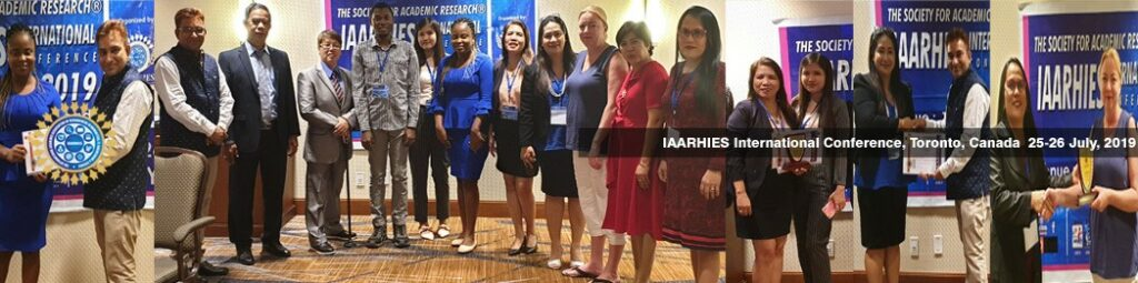 IAARHIES 257th International Conference on IT & Computer Science – ICITCS – 2021