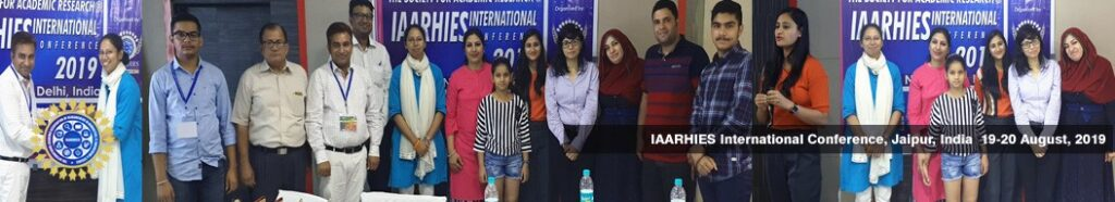 IAARHIES 267th International Conference on Social Science & Humanities ICSCH – 2021