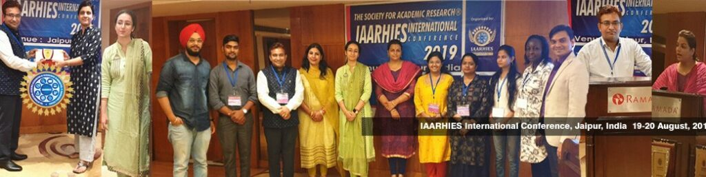 IAARHIES 272nd International Conference on IT & Computer Science – ICITCS – 2022