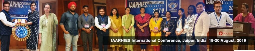 IAARHIES 254th International Conference on Business & Economics ICBE – 2021