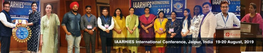 IAARHIES 274th International Conference on IT & Computer Science – ICITCS – 2022
