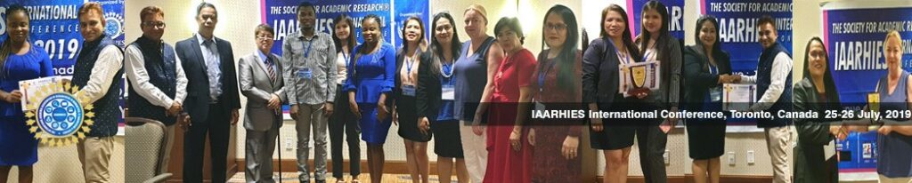 IAARHIES 271st International Conference on Physical & Life Sciences ICPLS – 2021