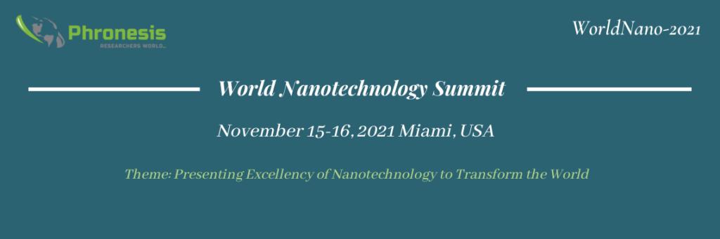 World Nanotechnology Summit